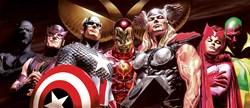 Assemble by Marvel - Box Canvas sized 46x20 inches. Available from Whitewall Galleries